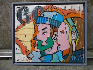 peintre contemporain saint malo