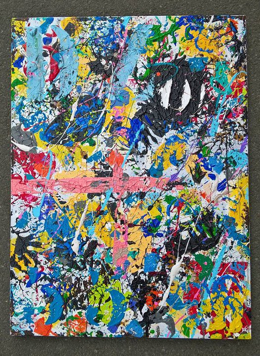 peinture abstraite art contemporain